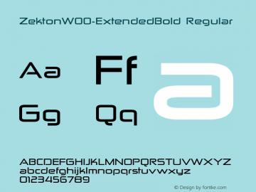Zekton-ExtendedBold