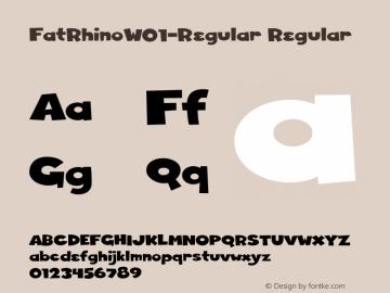 FatRhino-Regular