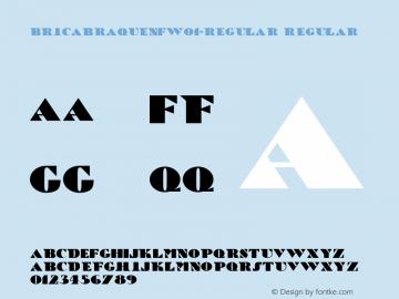 BricaBraqueNF-Regular