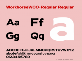 Workhorse-Regular