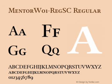 Mentor-RegSC