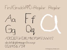 FirstGrade-Regular