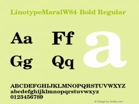LinotypeMaral-Bold