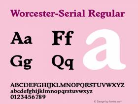 Worcester-Serial