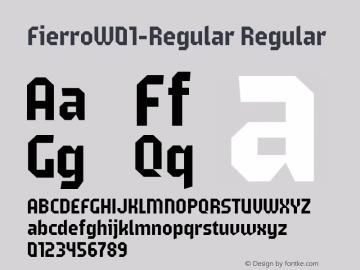 Fierro-Regular