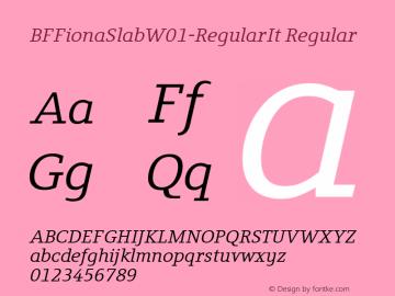 BFFionaSlab-RegularIt