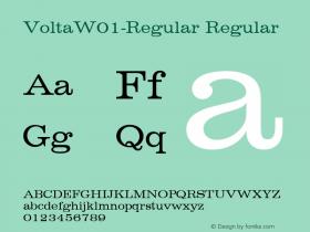 Volta-Regular