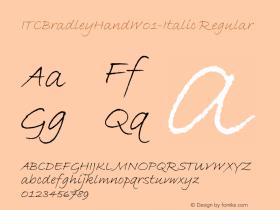 ITCBradleyHand-Italic