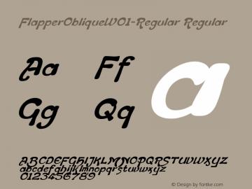 FlapperOblique-Regular