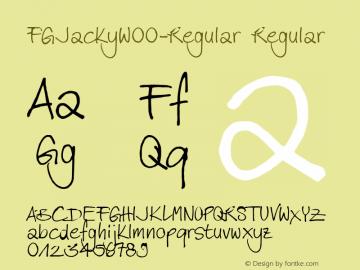 FGJacky-Regular