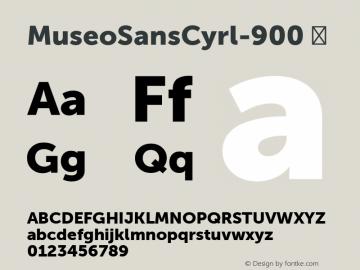 MuseoSansCyrl-900