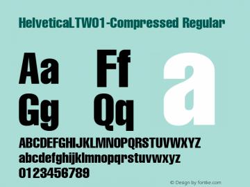 HelveticaLT-Compressed