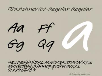 FGKristine-Regular