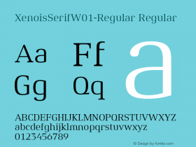 XenoisSerif-Regular