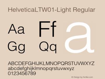 HelveticaLT-Light