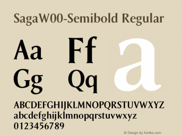 Saga-Semibold