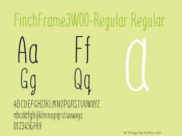 FinchFrame3-Regular