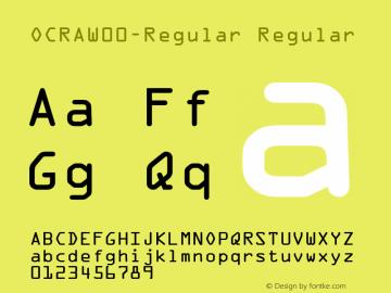 OCRA-Regular