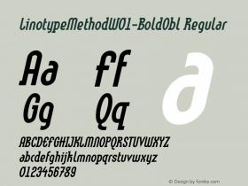LinotypeMethod-BoldObl