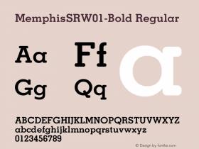 MemphisSR-Bold