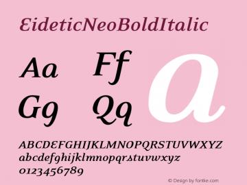 EideticNeoBoldItalic