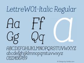Lettre-Italic