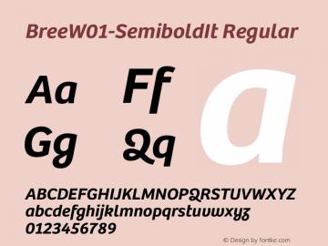 Bree-SemiboldIt