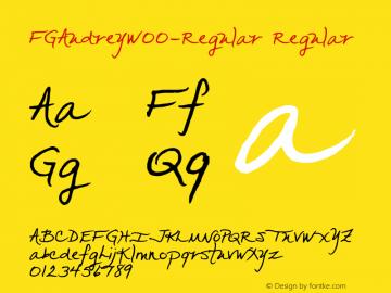 FGAudrey-Regular
