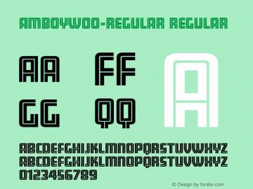 Amboy-Regular