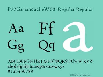 P22Garamouche-Regular