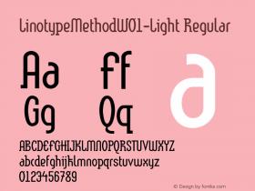 LinotypeMethod-Light