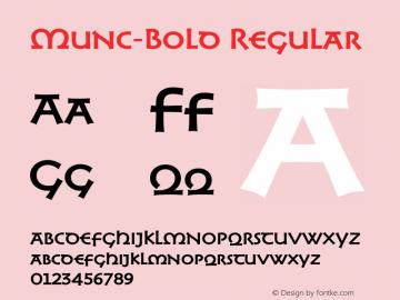 Munc-Bold