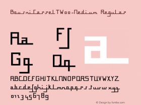 BousniCarreLT-Medium