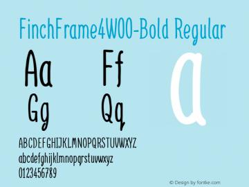 FinchFrame4-Bold