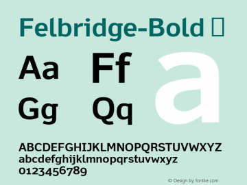 Felbridge-Bold