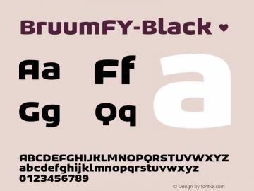 BruumFY-Black