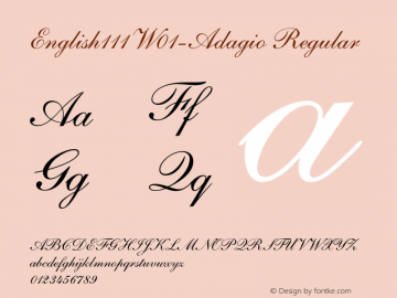English111-Adagio