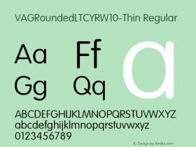 VAGRoundedLTCYR-Thin