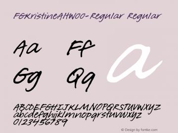 FGKristineAlt-Regular