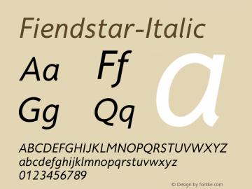 Fiendstar-Italic