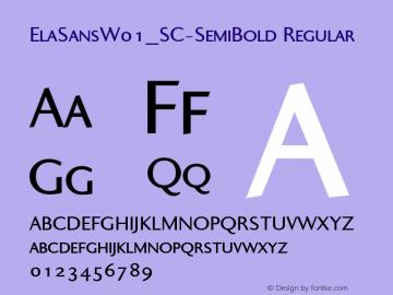ElaSans_SC-SemiBold