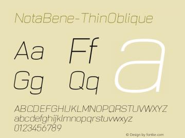 NotaBene-ThinOblique