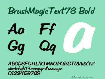 BrushMagicText78