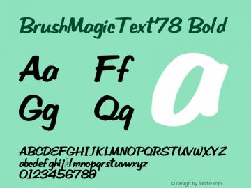 BrushMagicText78