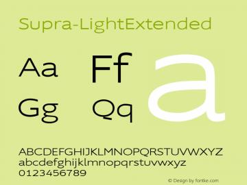 Supra-LightExtended