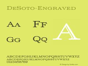 DeSoto-Engraved