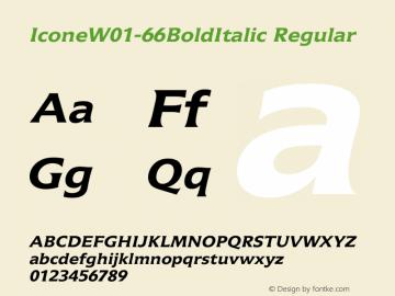Icone-66BoldItalic