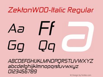 Zekton-Italic