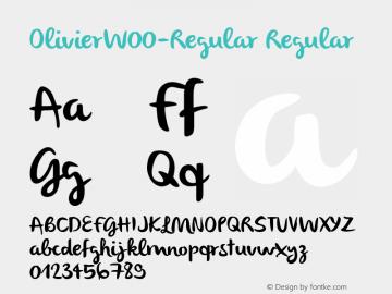 Olivier-Regular