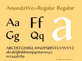 Amanda-Regular